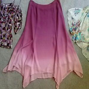 Alfani Silk Skirt! 🌼💕